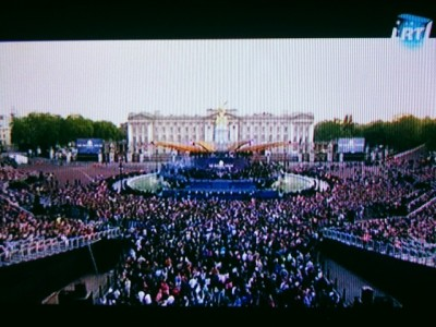 UK's patriotic show on Lithuanian national TV...