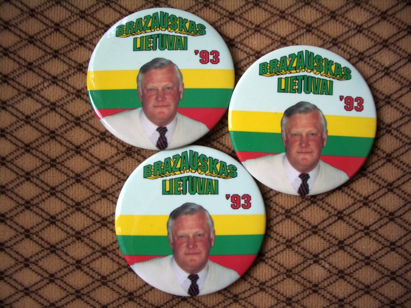 Brazauskas Lietuvai '93