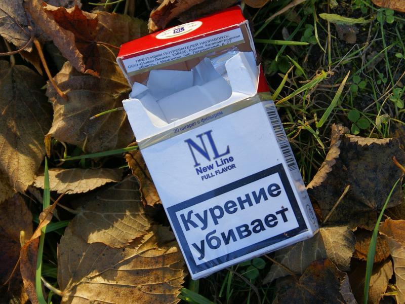 NL / New Line / Курение убивает