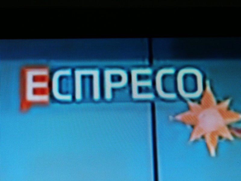 Garsusis Еспресо TV - nors pavadinimas jau kirilica, bet vis tiek užsienietiškai