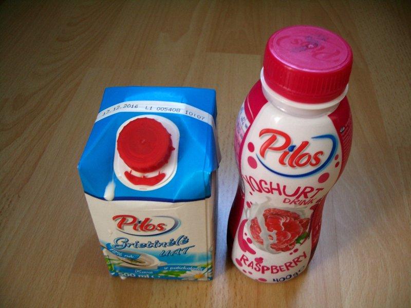 pieno produktai parduodami su Pilos prekiniu ženklu - vėl ne Lietuvoje pagaminti