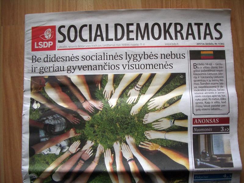 Socialdemokratas, 2017 m. birželis, Nr.4 (85)
