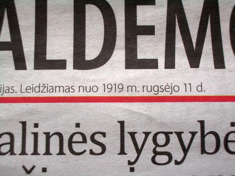 Socdemai įžūliai skelbia netiesą girdi va šitas laikraštėlis leidžiamas nuo 1919 metų